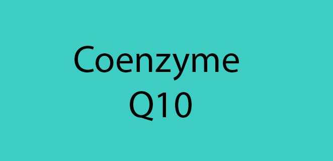 مرافق الأنزيم Q10