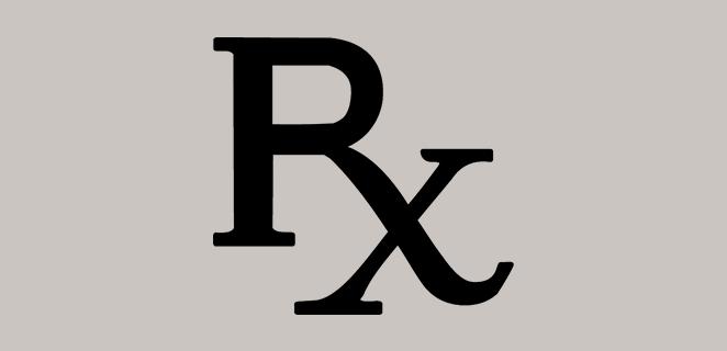 رمز الوصفة الطبية