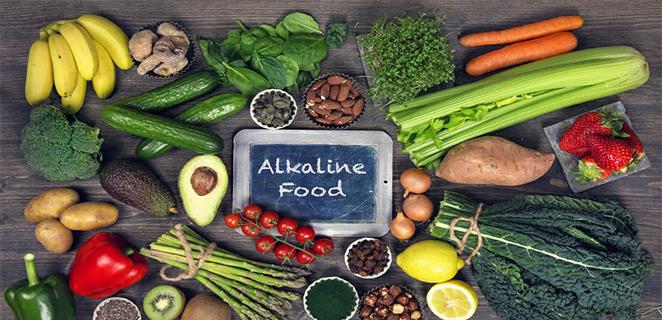 النظام الغذائي القلوي