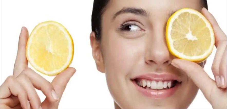 تنظيف الوجه باستخدام الليمون
