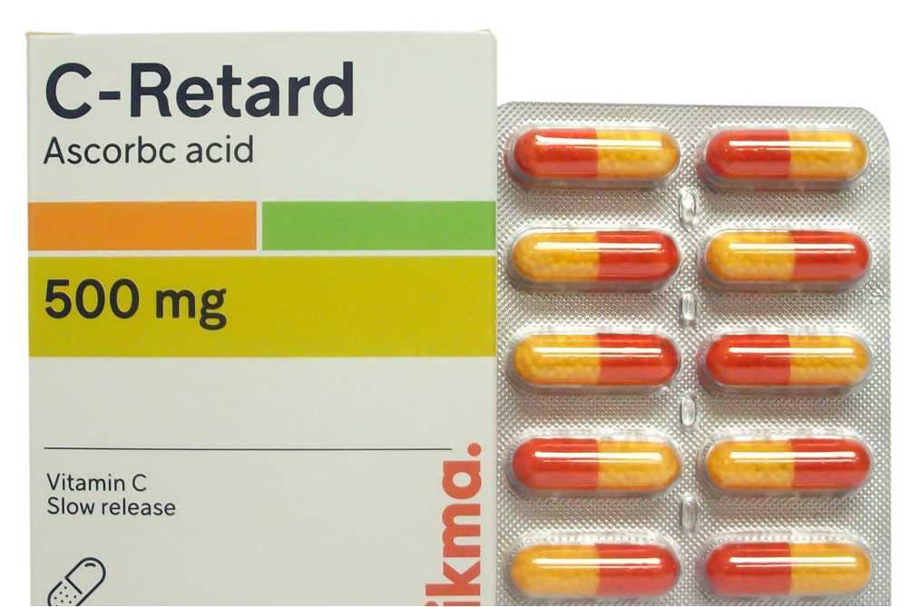 فيتامين سي 500 Vitamin C 500 مضاد للاكسدة الاسقربوط الطبي الطبي