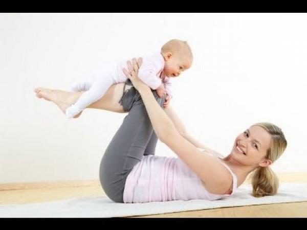 تمارين شد البطن بعد الولادة
