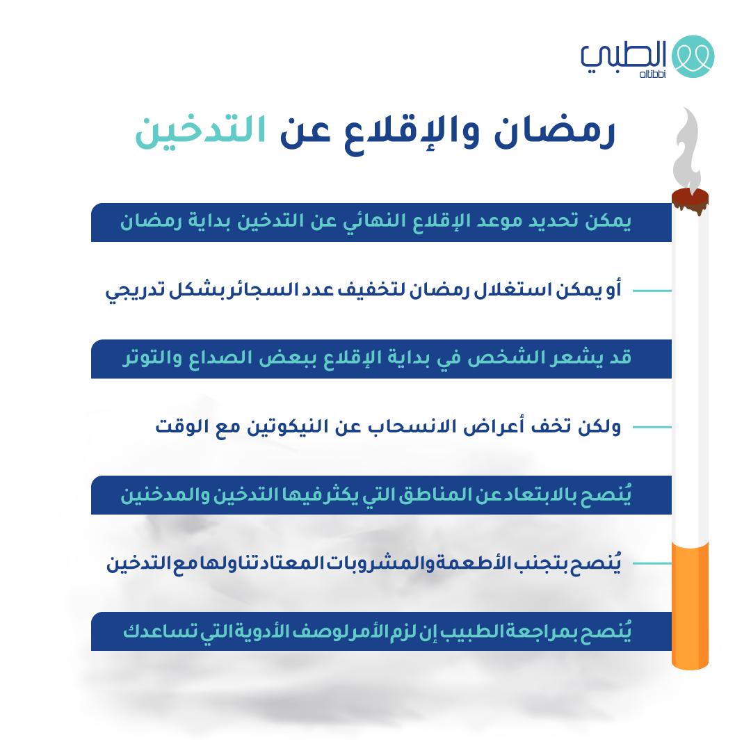 فائد رمضان للاقلاع عن التدخين