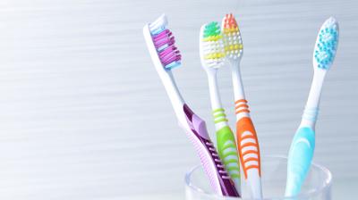 تغطية فرشاة الأسنان