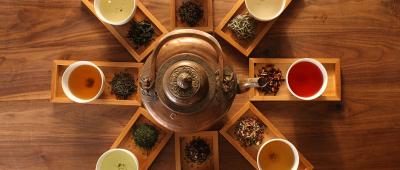 أنواع الشاي والفروق بينها