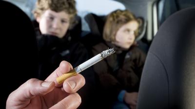 التدخين السلبي والاطفال