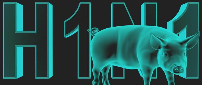 How do you distinguish between flu symptoms and swine flu symptoms?  Infographic