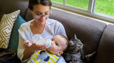 التهاب الأنف المتكرر عند الرضع