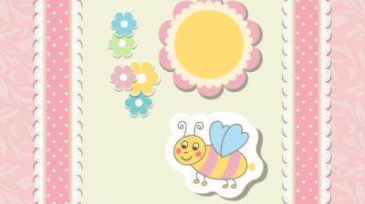 العسل والاطفال