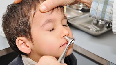 التهاب الأنف عند الأطفال