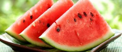البطيخ لمنع العطش