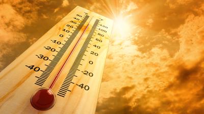 تباين درجات الحرارة