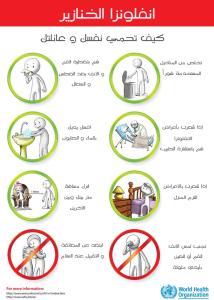 الوقاية من انفلونزا الطيور H1N1-A