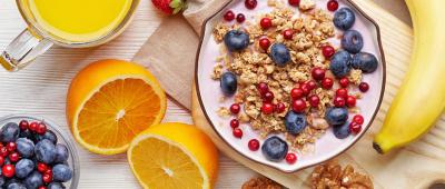 تناول وجبة الافطار