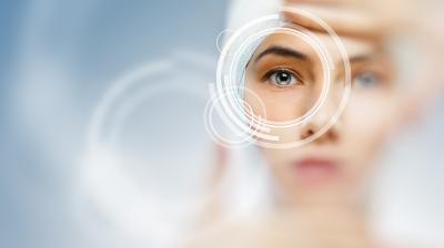 مواد كيميائية في العين