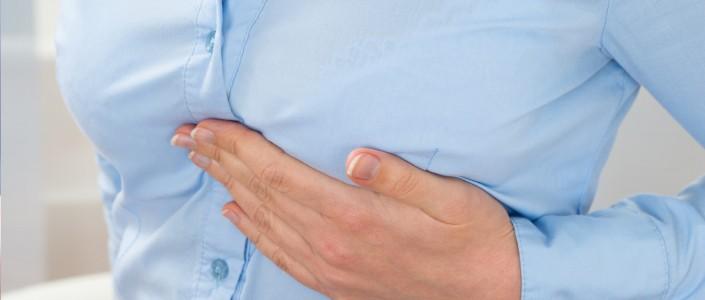 ألم الثدي