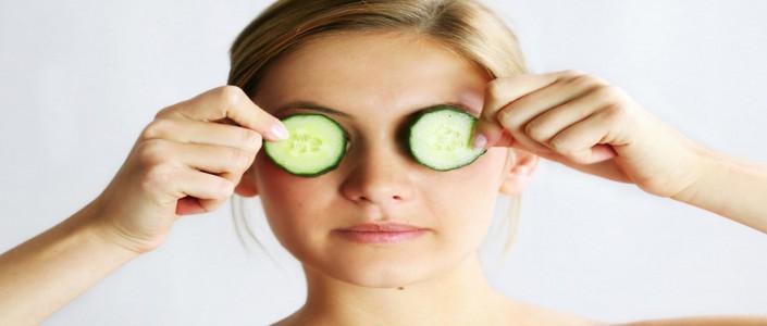 العلاج الطبيعي للعيون الغائرة