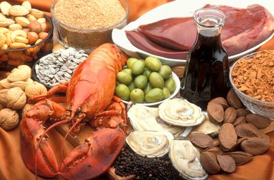 الأطعمة والمكملات الغذائية الغنية بالنحاس الطبي