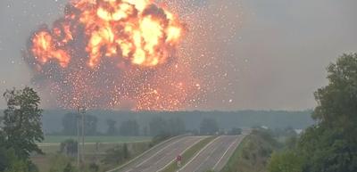 الانفجارات