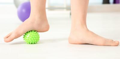 تبسط القدم المرن عند البالغين