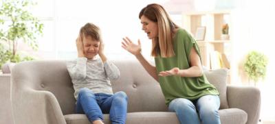 تاثير الصراخ في وجه الطفل على صحته