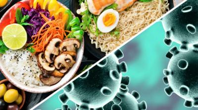 الغذاء وفيروس الكورونا الجديد (كوفيد-19)