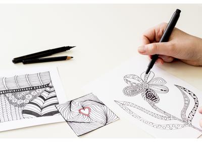 استخدام الرسم لمحاربة القلق والتوتر