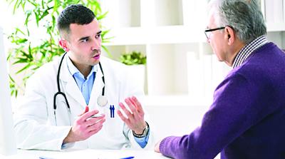 العلاقة المشتركة بين الطبيب و المريض