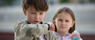 الوقاية من حساسية الصدر عند الأطفال