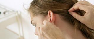 التهاب الغدد اللمفاوية خلف الاذن