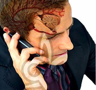 الهواتف المحمولة لها تأثير على المخ