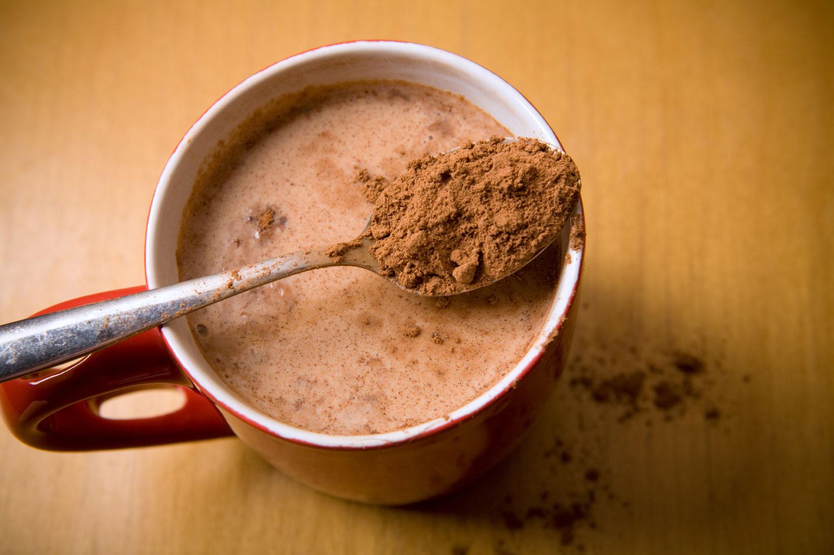 الكاكاو غني بالفوائد الصحية