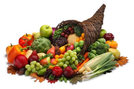 اضافة الاطعمة الملونة الى الوجبات له فوائد صحية كبيرة