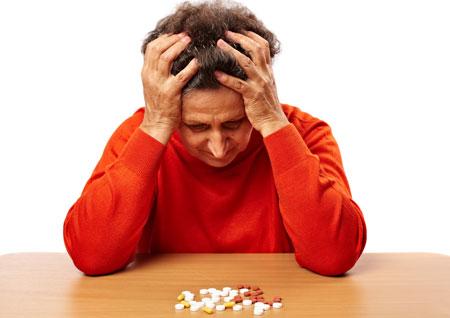 ادمان الاقراص المسُكنة للألم مرتبط بالاصابة باضطرابات الدم