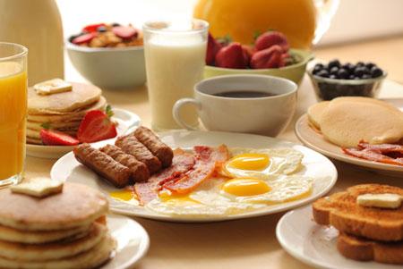 حساسية الانسولين تكون باعلى مستواياتها بعد وجبة الافطار