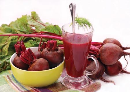 عصير الشمندر الأحمر يُقلل من ضغط الدم