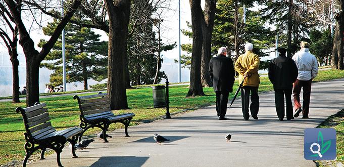 المشي للمرضى الناجين من السكتة الدماغية
