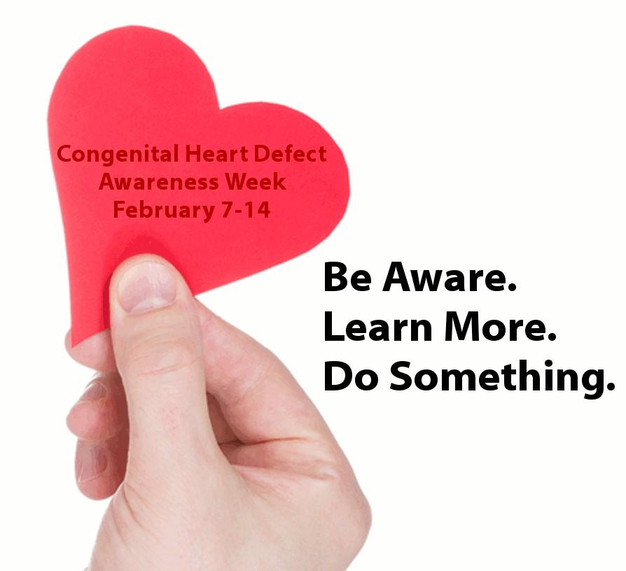 أسبوع التوعية بالأمراض والاعتلالات الخلقية في القلب