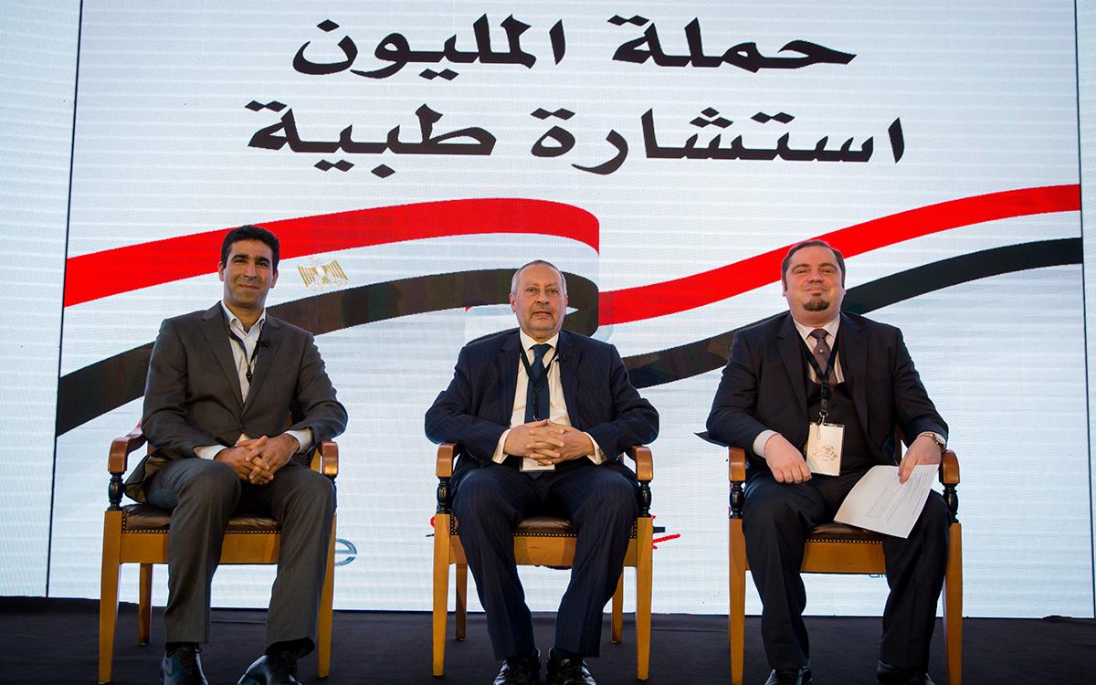 حملة مليون استشارة طبية مجانية بالشراكة مع T20 والشركة المصرية للاتصالات