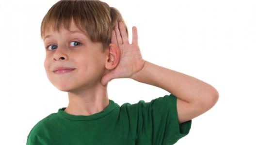 السمع عند الأطفال
