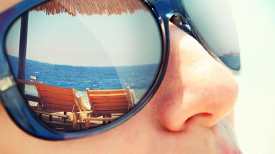 حماية العين في الصيف