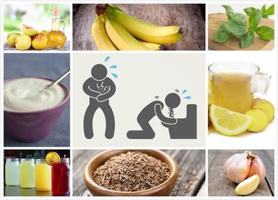 علاج التسمم الغذائي في المنزل