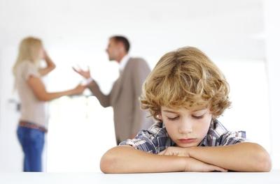 تأثير انفصال أو طلاق الأبوين على الأطفال