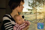 اكتئاب  ما  بعد  الولادة وتدابيره  العلاجية