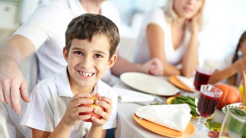 بدانة الأطفال والعلاقات الأسرية خلال الطعام