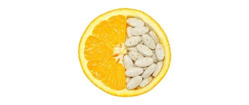 ما هي الأطعمة التي تحتوي على فيتامين ج (vitamin C) أكثر من البرتقال؟
