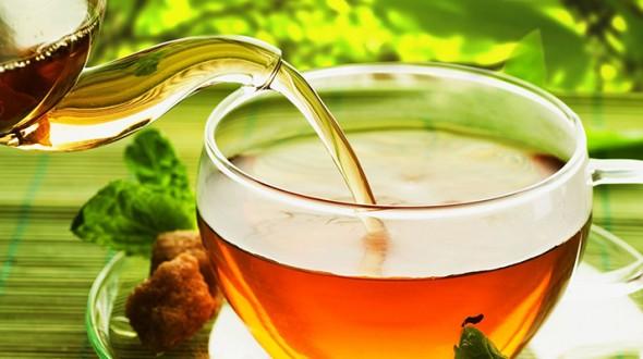 الشاي الاخضر وفوائده الصحية