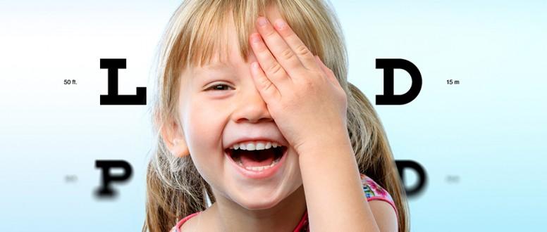 أمراض العيون الشائعة بين الأطفال انفوجرافيك