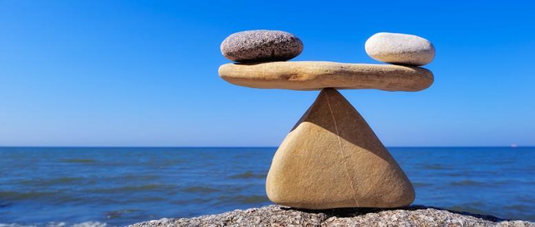 كيف يتوازن الجسم؟