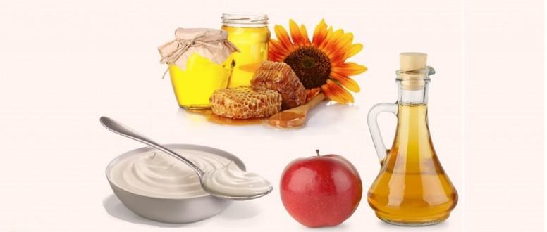 علاج النزلة المعوية بالاعشاب، الزبادي والعسل